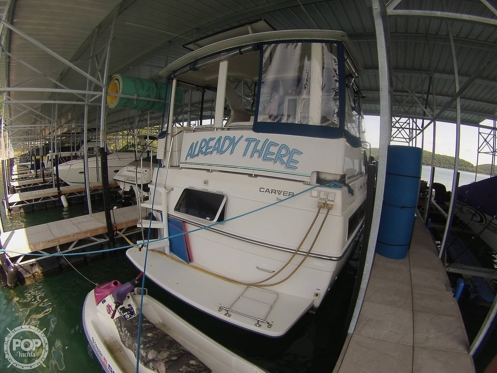 1995 Carver boat for sale, model of the boat is 370 Aft Cabin & Image # 37 of 40