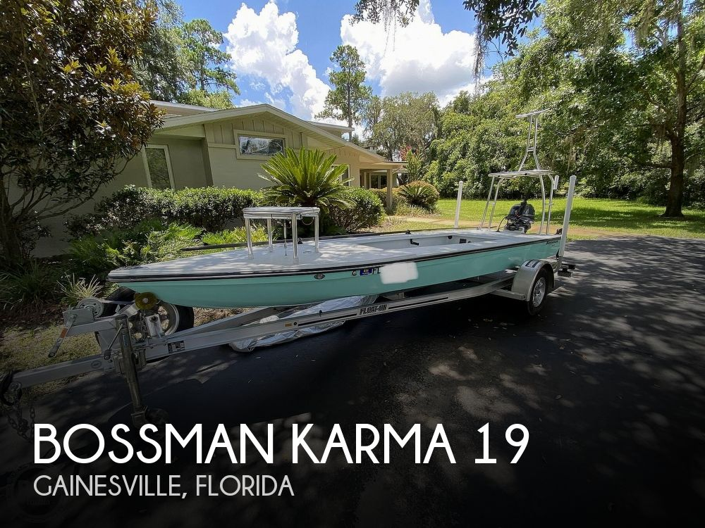 2018 Bossman boat for sale, model of the boat is Karma 19 & Image # 1 of 40