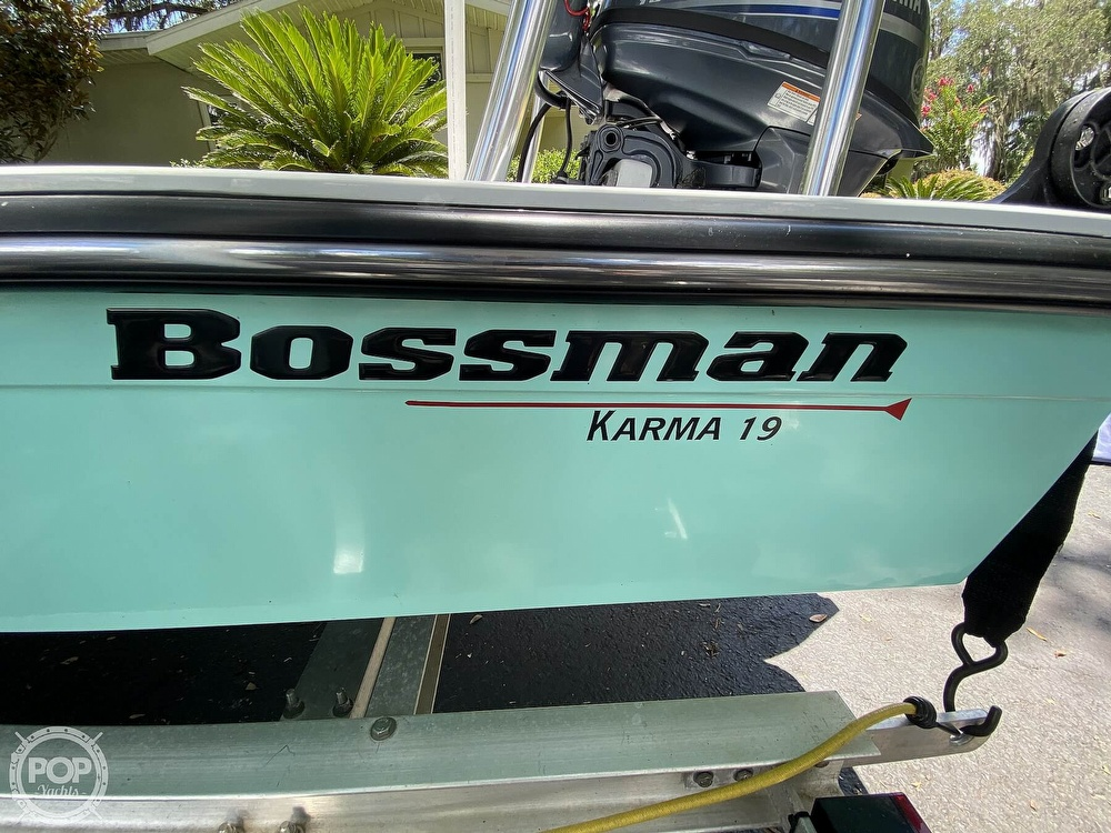 2018 Bossman boat for sale, model of the boat is Karma 19 & Image # 21 of 40