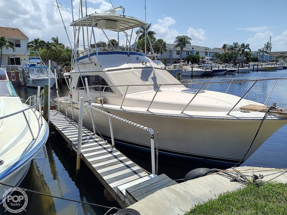 1989 Pacemaker boat for sale, model of the boat is 33 & Image # 19 of 40
