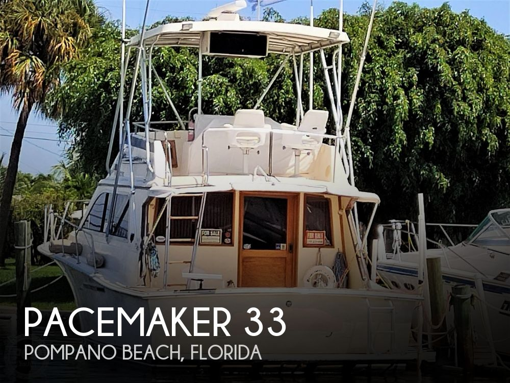 1989 Pacemaker boat for sale, model of the boat is 33 & Image # 1 of 40