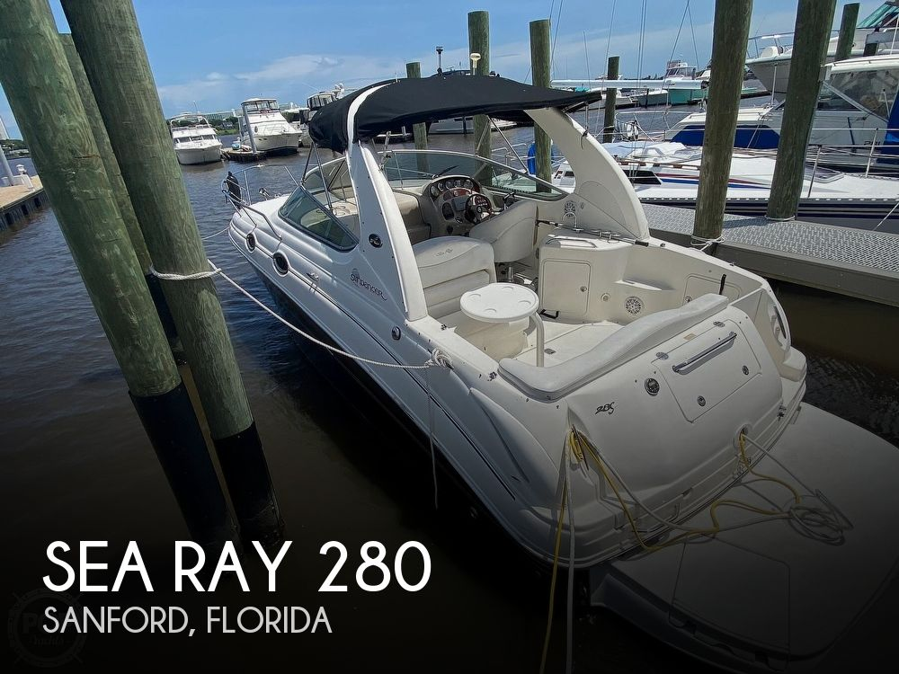 2005 Sea Ray boat for sale, model of the boat is 280 Sundancer & Image # 1 of 40