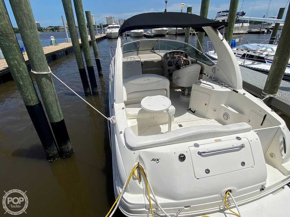 2005 Sea Ray boat for sale, model of the boat is 280 Sundancer & Image # 17 of 40