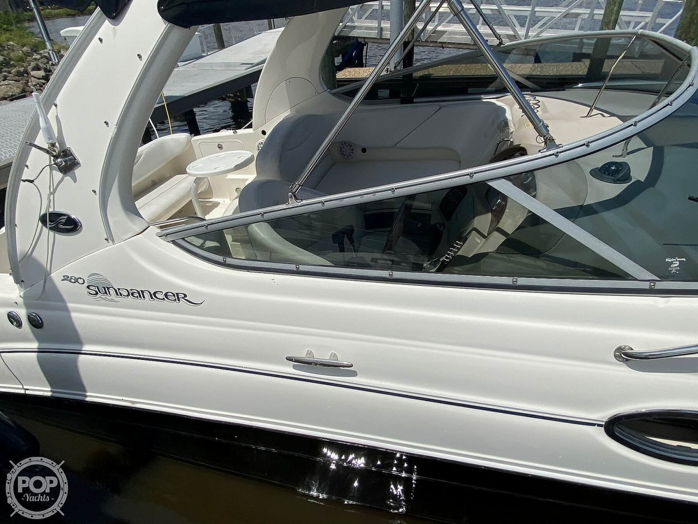 2005 Sea Ray boat for sale, model of the boat is 280 Sundancer & Image # 24 of 40