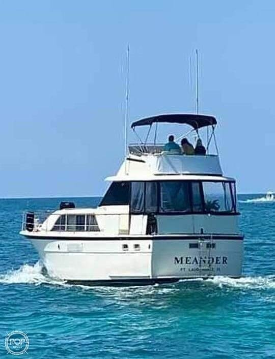 1975 Hatteras boat for sale, model of the boat is Double Cabin & Image # 4 of 40