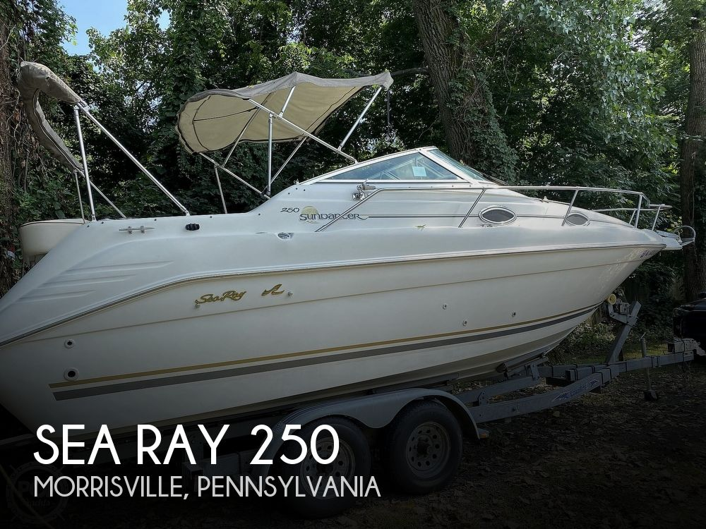 1997 Sea Ray boat for sale, model of the boat is Sundancer & Image # 1 of 40