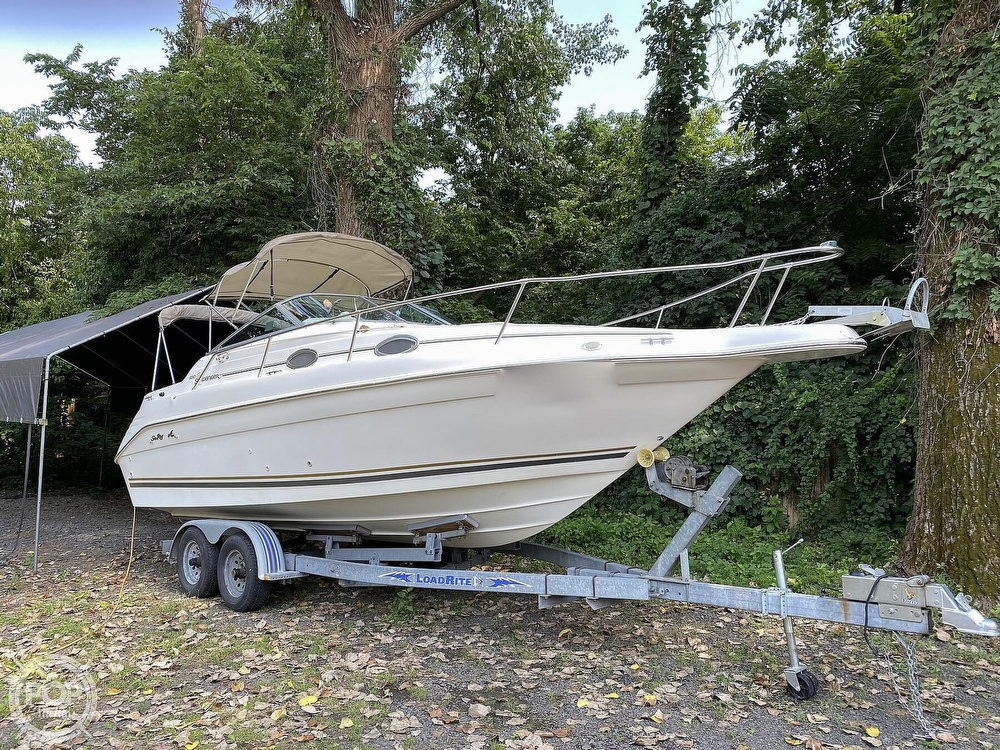 1997 Sea Ray boat for sale, model of the boat is Sundancer & Image # 2 of 40