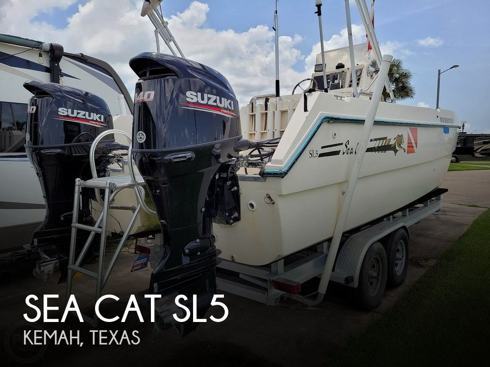 1996 Sea Cat boat for sale, model of the boat is SL5 & Image # 1 of 40