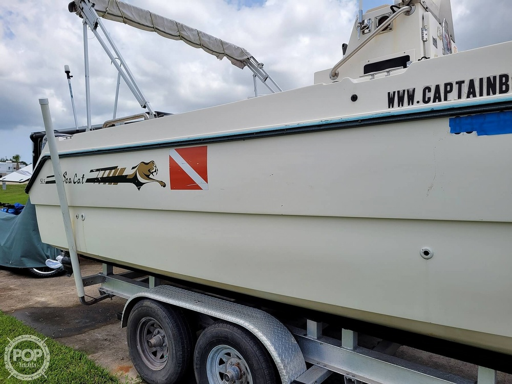 1996 Sea Cat boat for sale, model of the boat is SL5 & Image # 13 of 40