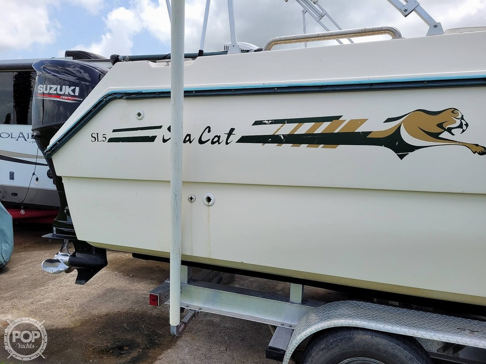 1996 Sea Cat boat for sale, model of the boat is SL5 & Image # 25 of 40