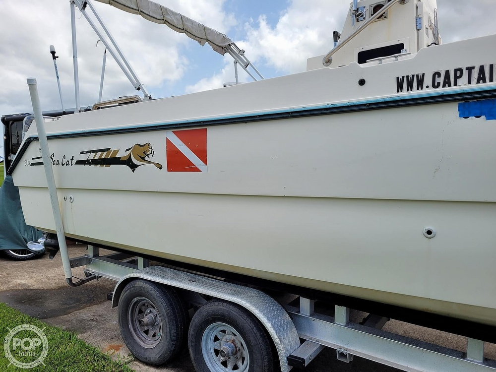 1996 Sea Cat boat for sale, model of the boat is SL5 & Image # 26 of 40