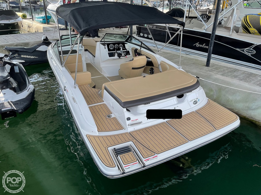 2020 Sea Ray boat for sale, model of the boat is SPX 190 & Image # 10 of 40