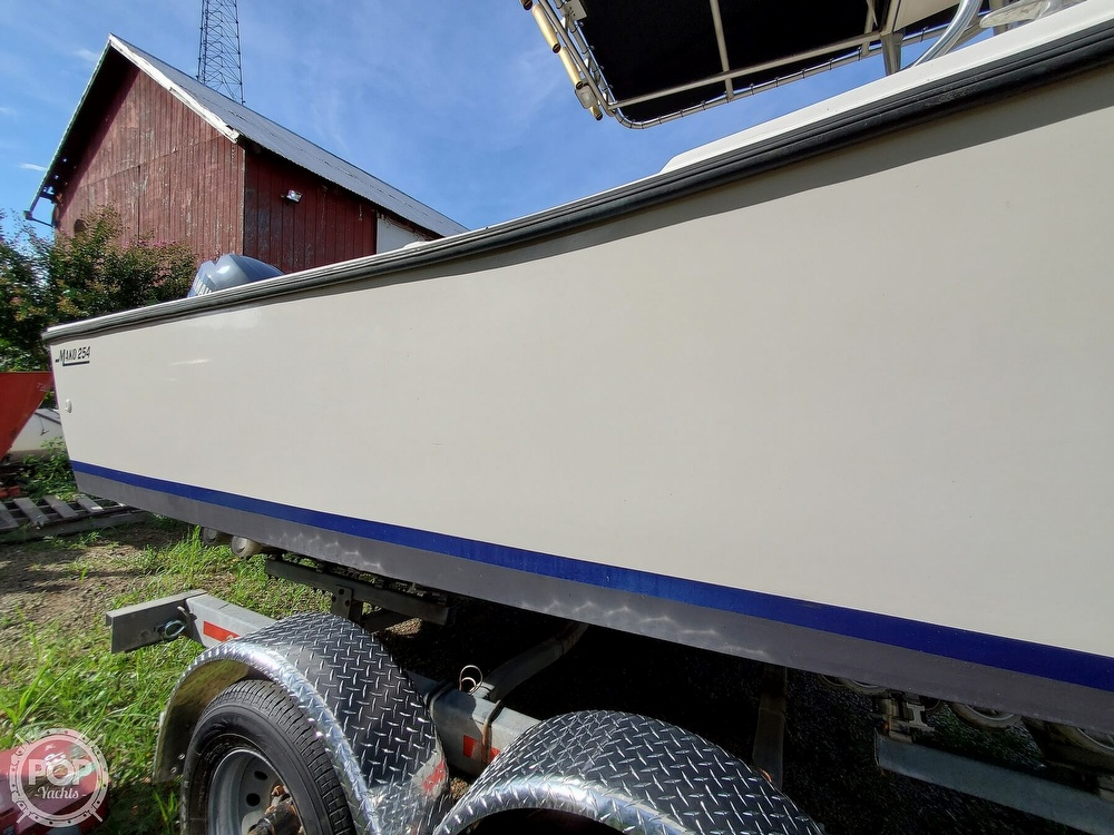 1983 Mako boat for sale, model of the boat is 254 & Image # 37 of 40