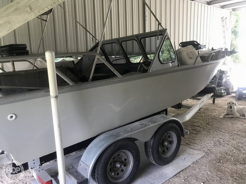 1996 Custom Aluminum boat for sale, model of the boat is 21 & Image # 2 of 8