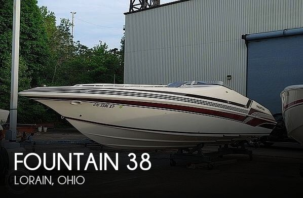 Used Power boats For Sale in Canton, Ohio by owner   1996 Fountain 38 Sport Cruiser