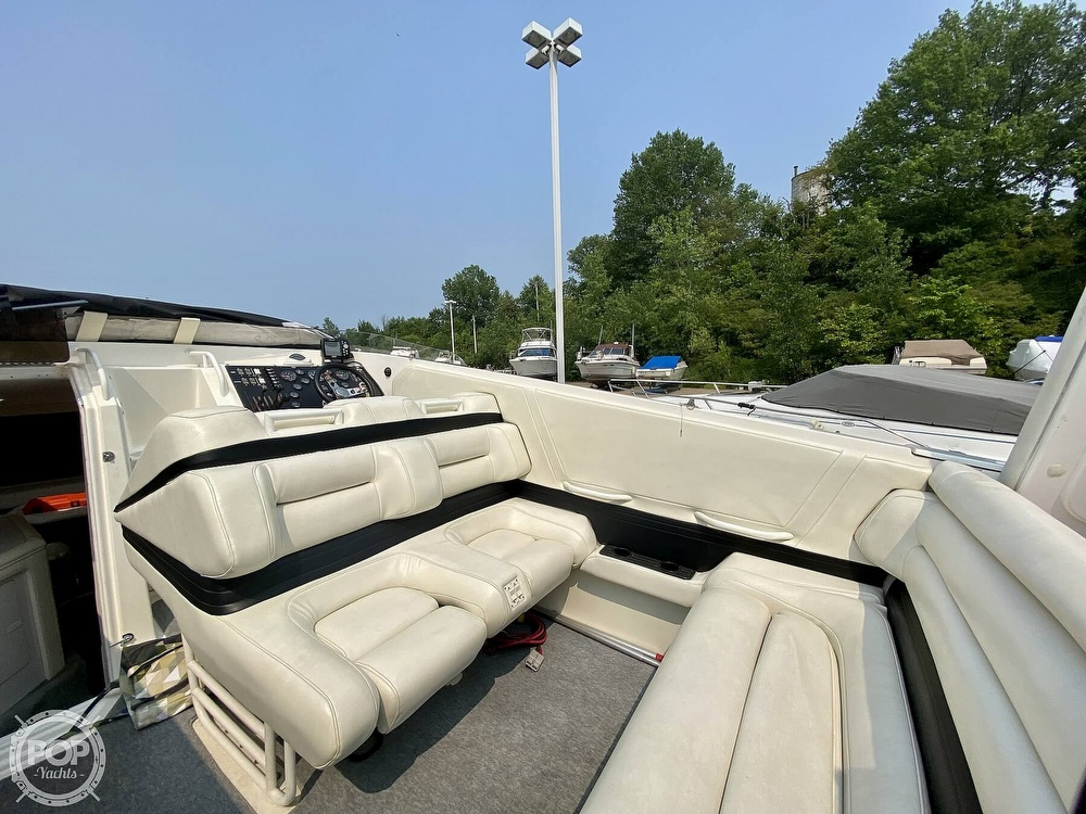 1996 Fountain boat for sale, model of the boat is 38 Sport Cruiser & Image # 23 of 40