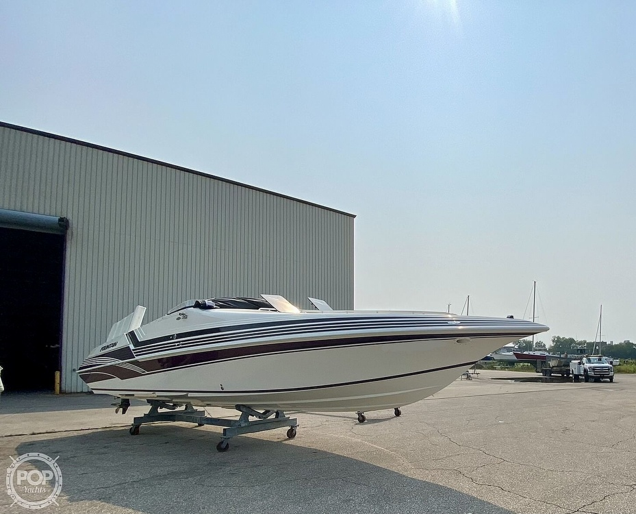 1996 Fountain boat for sale, model of the boat is 38 Sport Cruiser & Image # 11 of 40