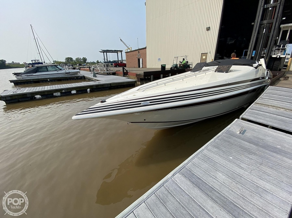 1996 Fountain boat for sale, model of the boat is 38 Sport Cruiser & Image # 2 of 40