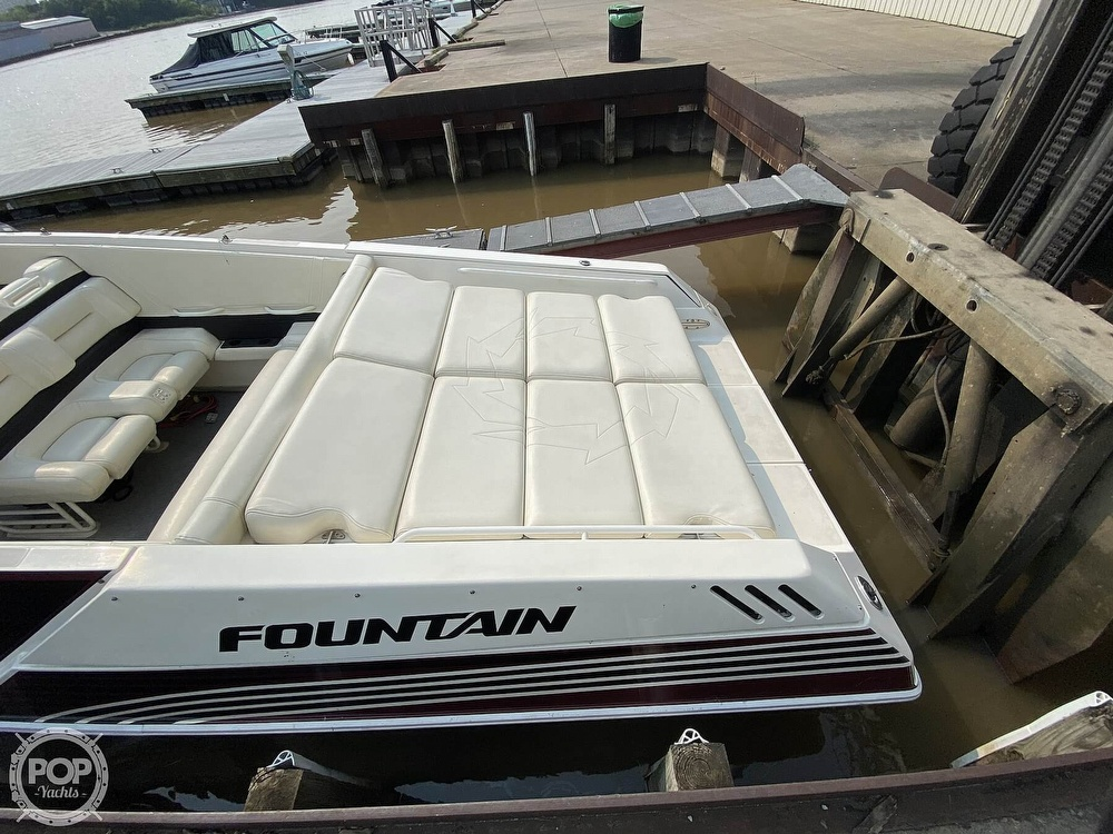 1996 Fountain boat for sale, model of the boat is 38 Sport Cruiser & Image # 9 of 40