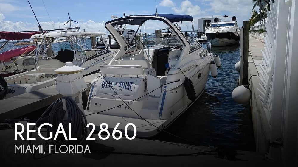 Used Regal 28 Boats For Sale by owner | 2007 Regal 2860 Express Cruiser