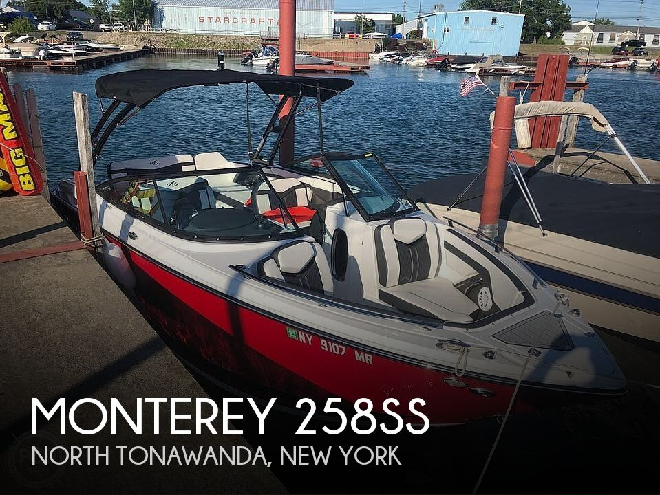 Used Monterey Boats For Sale by owner | 2020 Monterey 258ss