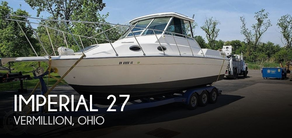Used Imperial Boats For Sale in Ohio by owner | 1996 Imperial 27 Fisherman