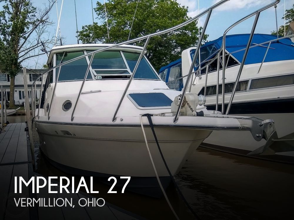 1996 Imperial boat for sale, model of the boat is 27 Fisherman & Image # 1 of 40