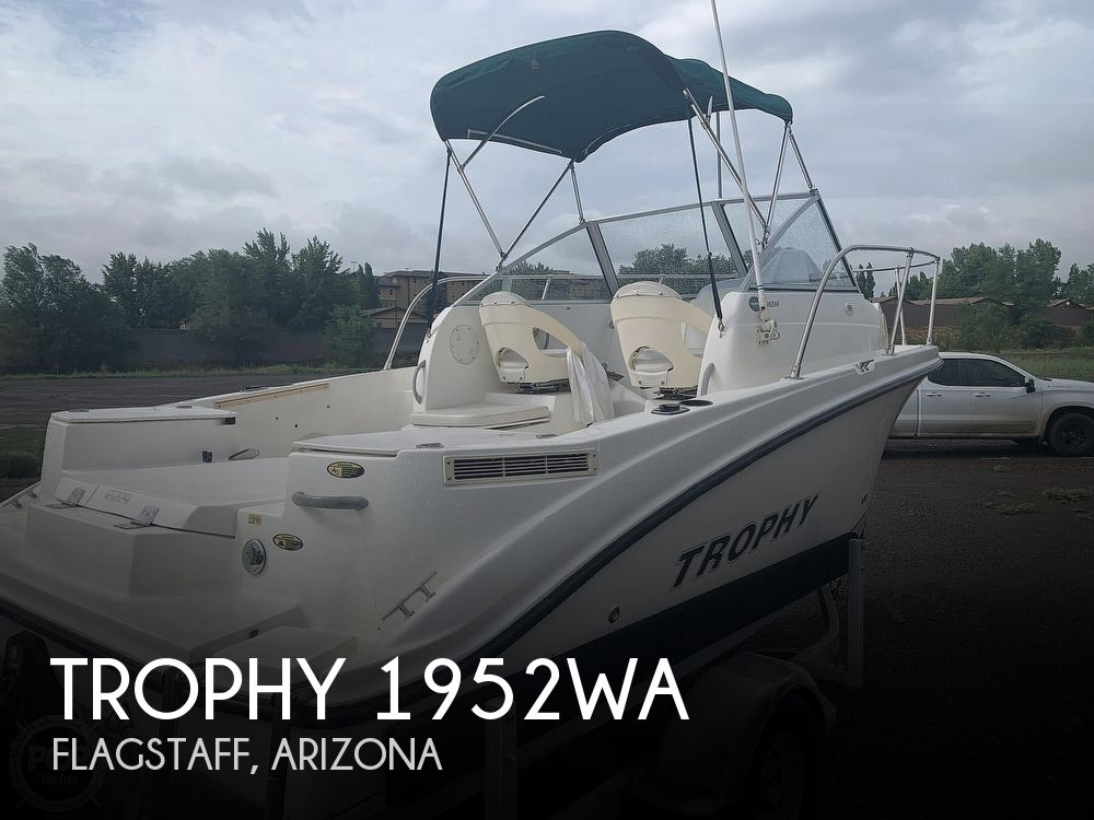 2006 Trophy boat for sale, model of the boat is 1952WA & Image # 1 of 40
