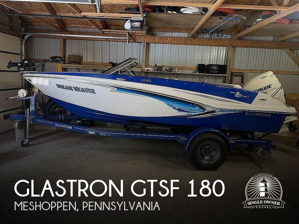 2013 Glastron boat for sale, model of the boat is GTSF 180 & Image # 1 of 40