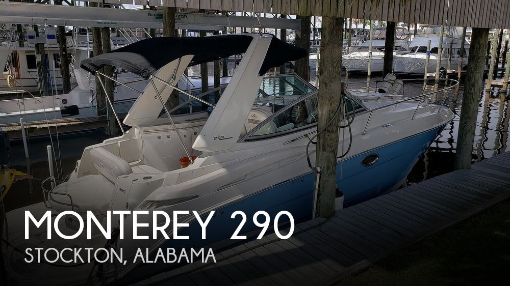 2008 Monterey boat for sale, model of the boat is 290 Sport Cruiser & Image # 1 of 40