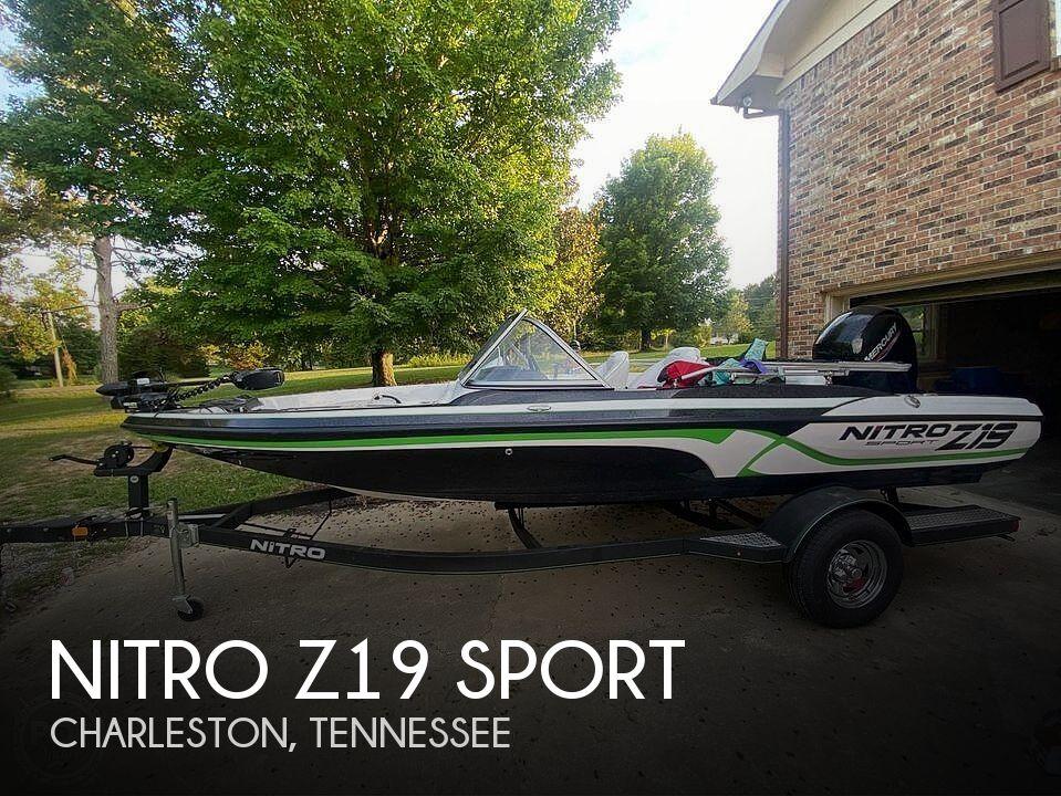2020 Nitro boat for sale, model of the boat is Z19 Sport & Image # 1 of 40