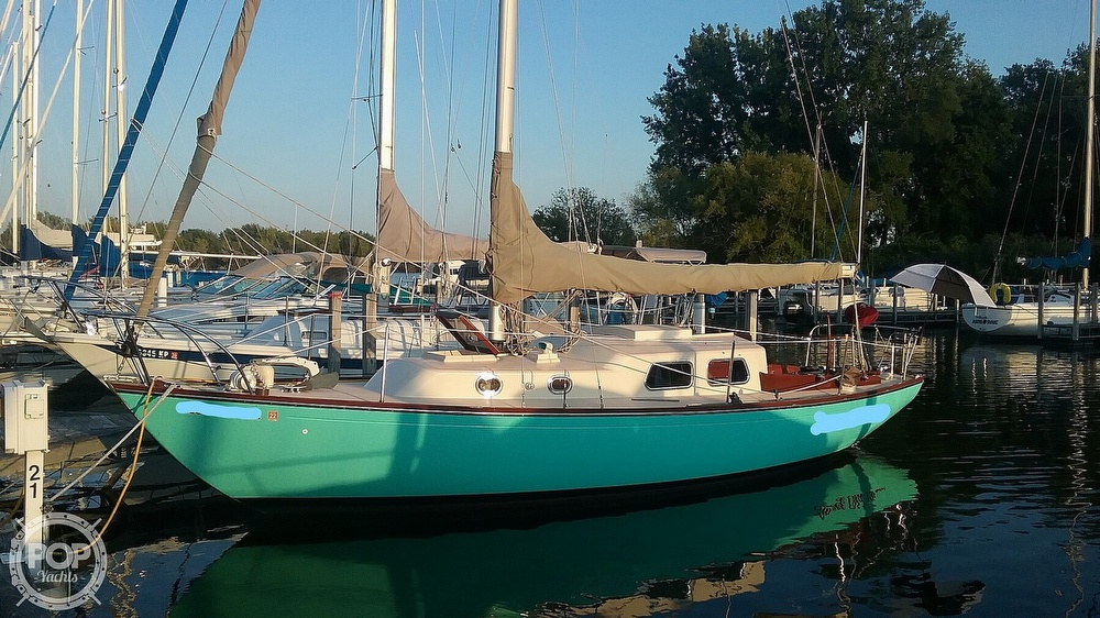 1968 Alberg boat for sale, model of the boat is 30' & Image # 2 of 40