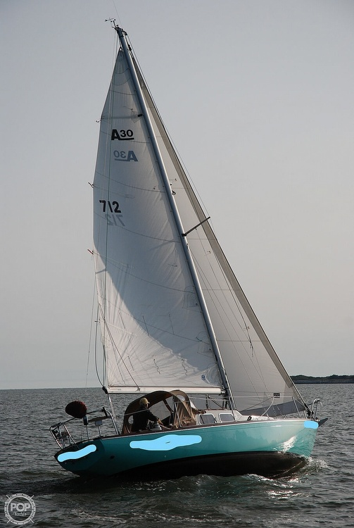 1968 Alberg boat for sale, model of the boat is 30' & Image # 5 of 40