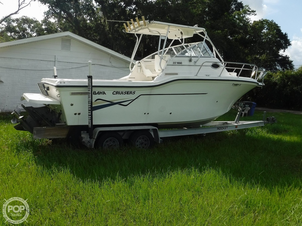 2002 Baha Cruisers boat for sale, model of the boat is 257 WAC & Image # 16 of 40