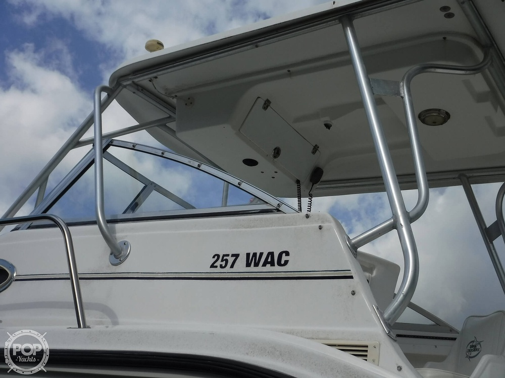 2002 Baha Cruisers boat for sale, model of the boat is 257 WAC & Image # 19 of 40