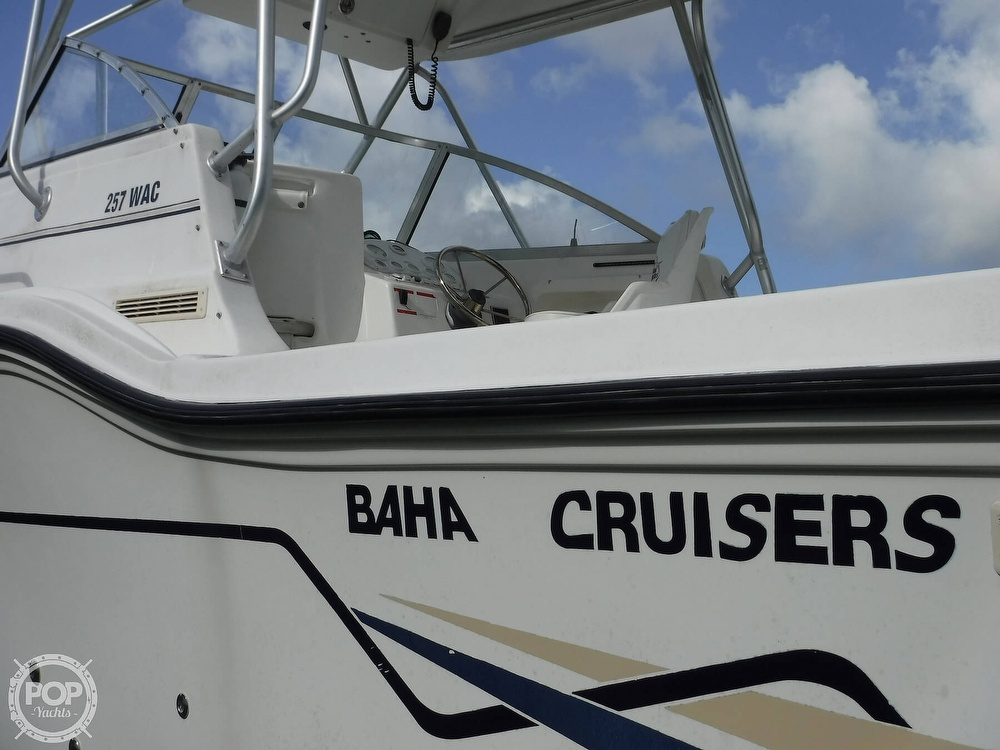 2002 Baha Cruisers boat for sale, model of the boat is 257 WAC & Image # 12 of 40