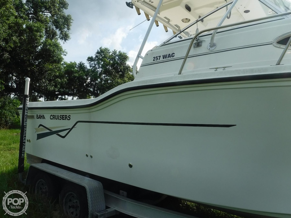 2002 Baha Cruisers boat for sale, model of the boat is 257 WAC & Image # 22 of 40