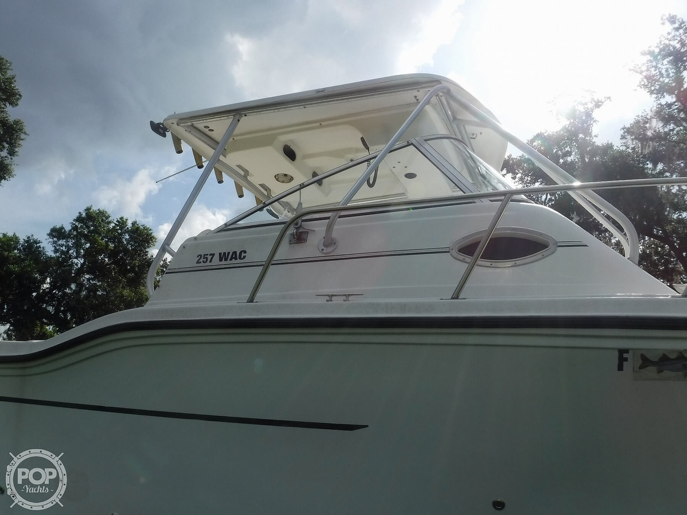 2002 Baha Cruisers boat for sale, model of the boat is 257 WAC & Image # 23 of 40