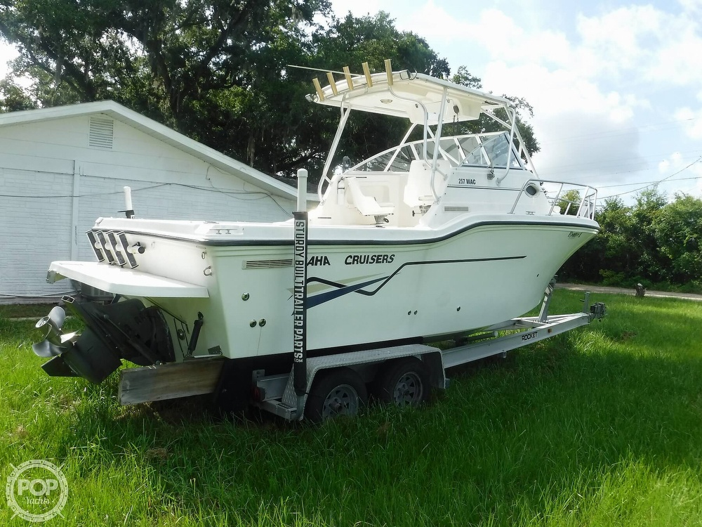 2002 Baha Cruisers boat for sale, model of the boat is 257 WAC & Image # 25 of 40