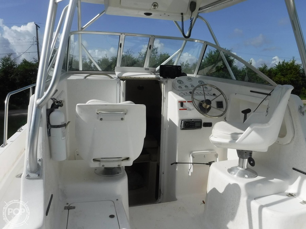 2002 Baha Cruisers boat for sale, model of the boat is 257 WAC & Image # 29 of 40