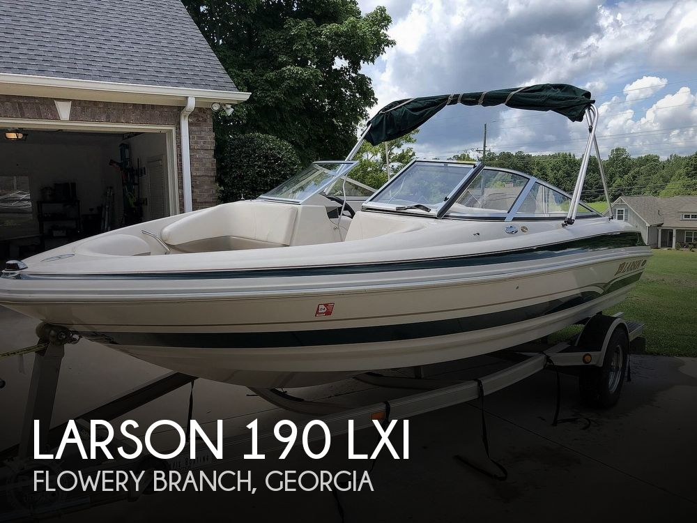 2001 Larson boat for sale, model of the boat is 190 LXI & Image # 1 of 40