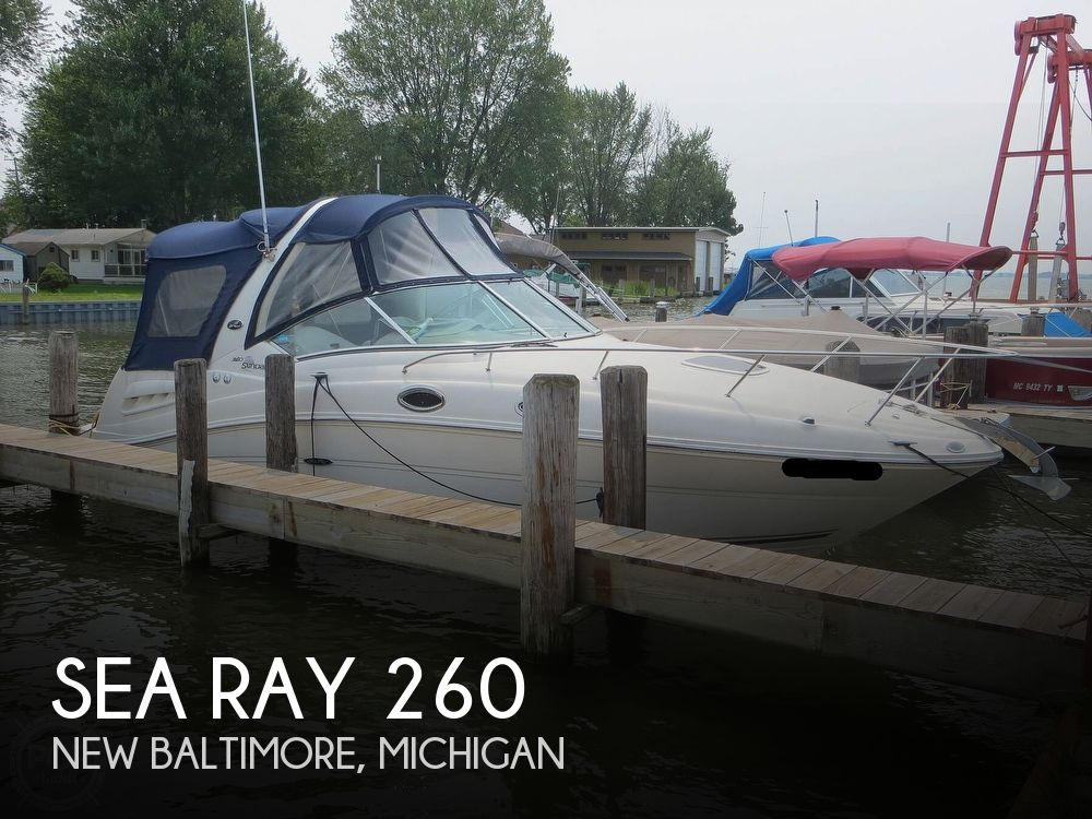 2008 Sea Ray boat for sale, model of the boat is 260 Sundancer & Image # 1 of 40