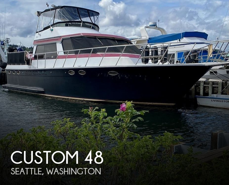 Used Custom Boats For Sale in Washington by owner | 1987 Custom 48
