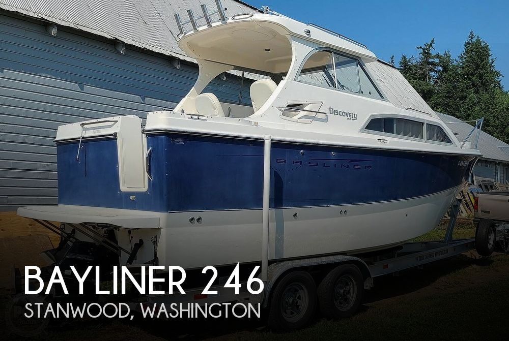 2007 Bayliner boat for sale, model of the boat is Discovery 246 & Image # 1 of 40