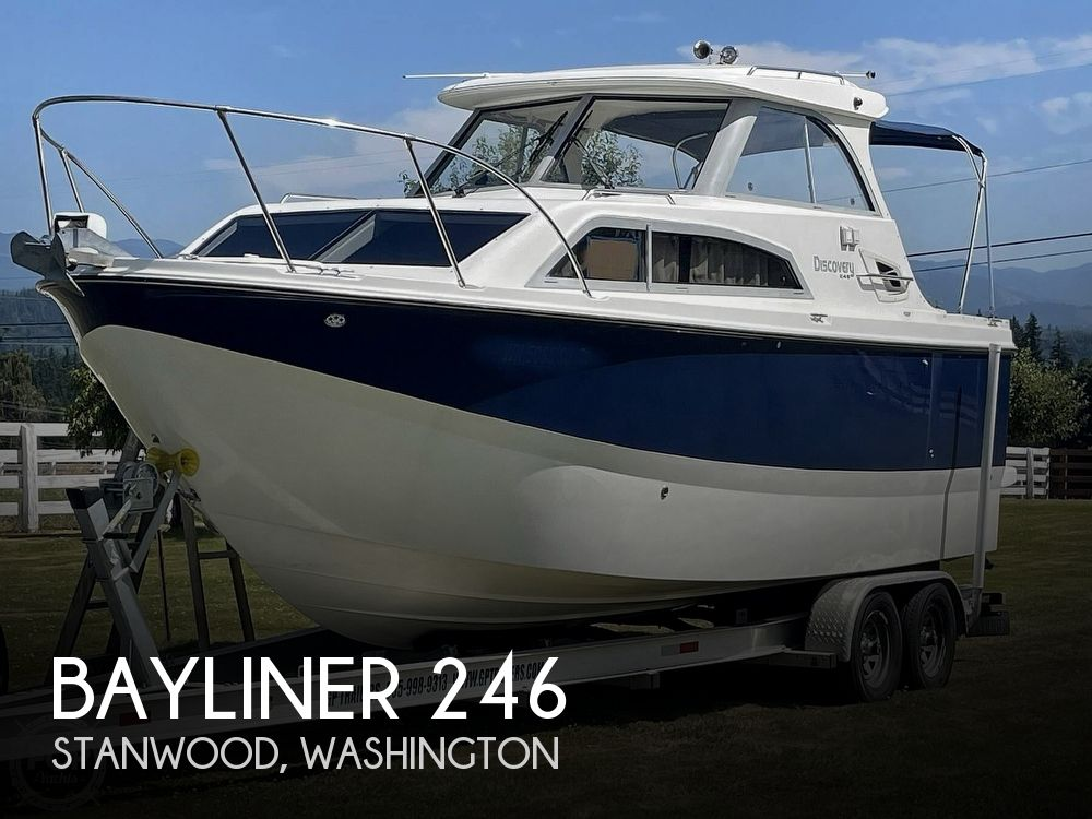 2007 BAYLINER DISCOVERY 246 for sale