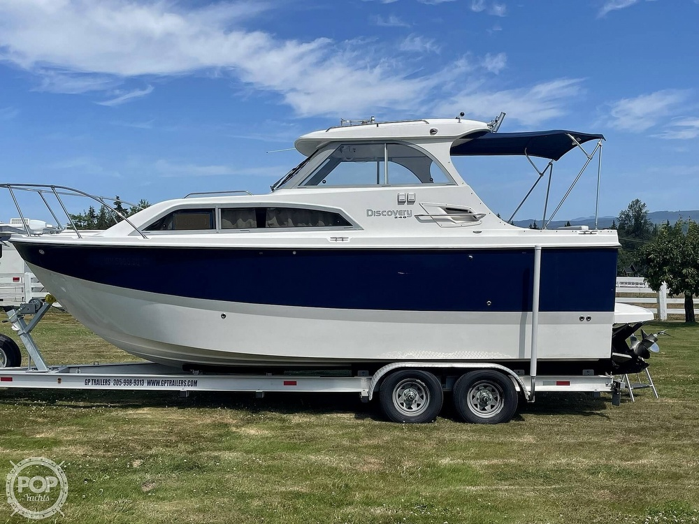 2007 Bayliner boat for sale, model of the boat is Discovery 246 & Image # 11 of 40