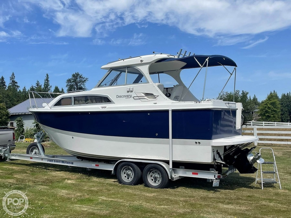 2007 Bayliner boat for sale, model of the boat is Discovery 246 & Image # 12 of 40