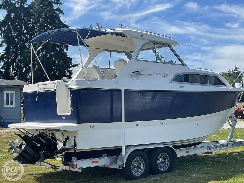 2007 Bayliner boat for sale, model of the boat is Discovery 246 & Image # 16 of 40