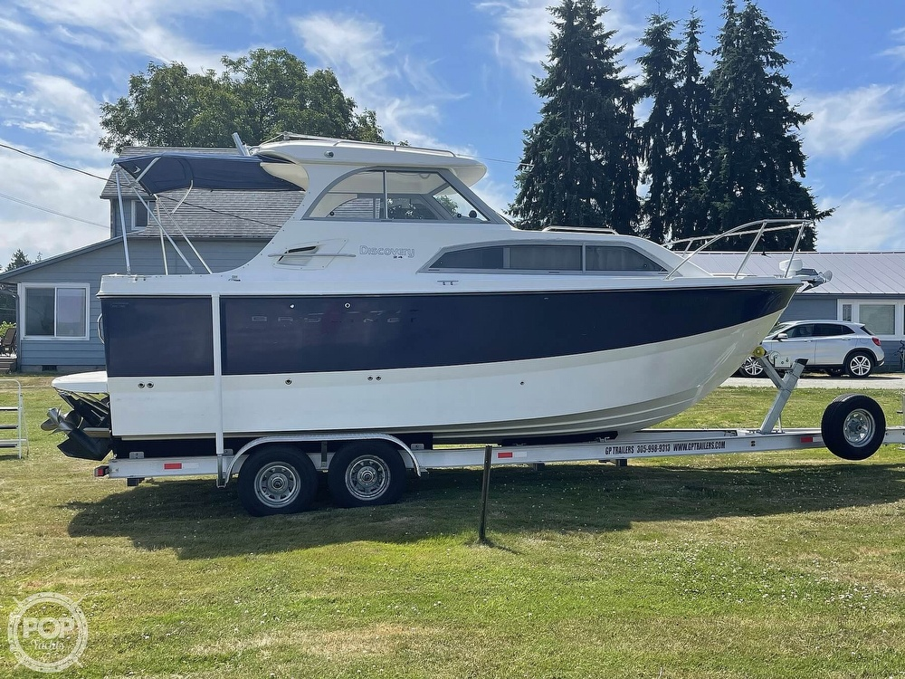 2007 Bayliner boat for sale, model of the boat is Discovery 246 & Image # 18 of 40