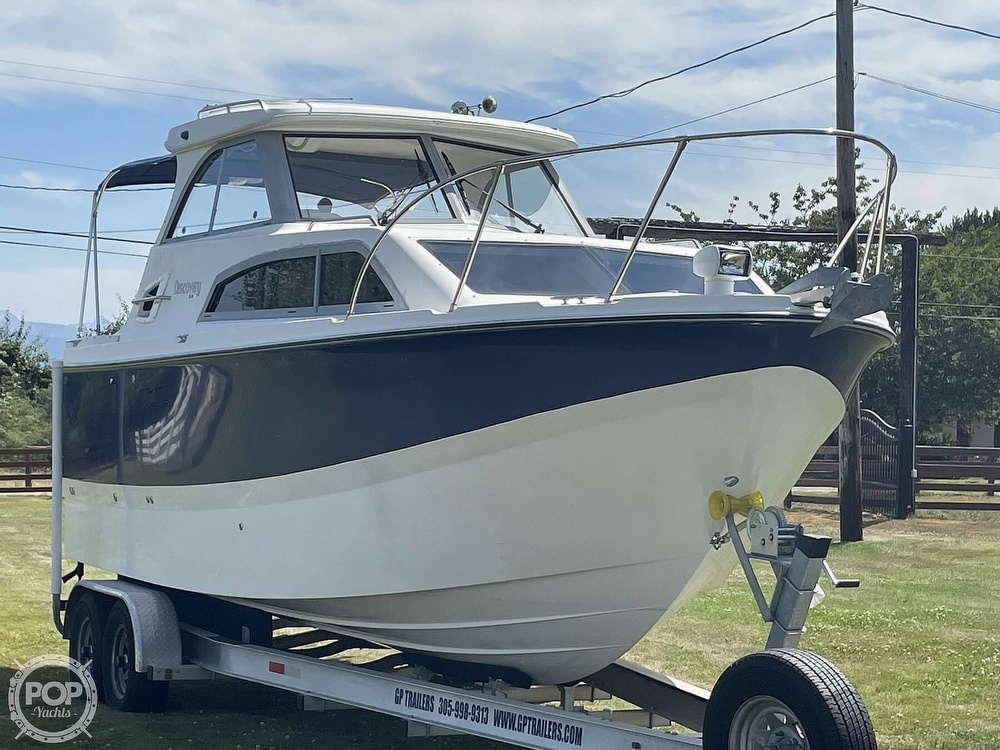 2007 Bayliner boat for sale, model of the boat is Discovery 246 & Image # 21 of 40